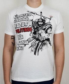 magyar harcos már várnak rád póló