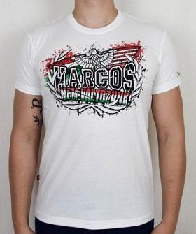 magyar harcos nem változunk fehér póló