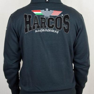 magyar harcos szürke belebújós pulóver