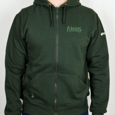 magyar harcos zöld pulóver