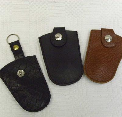 harang alakú bőr kulcstartó