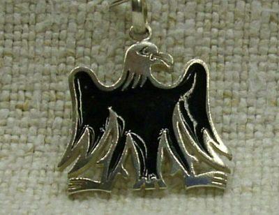 fekete turul ezüst medál