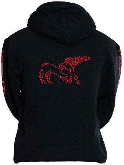 piros csodaszarvasos pulóver
