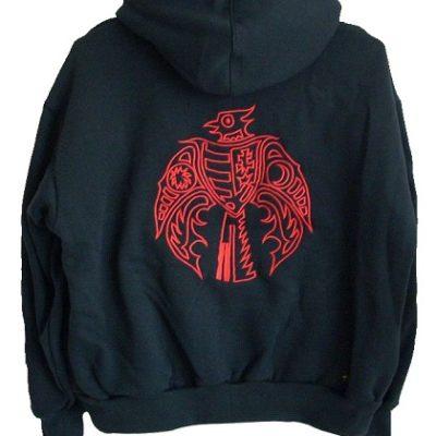 piros kárpátiás pulóver