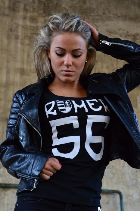 romer 56 feliratú póló