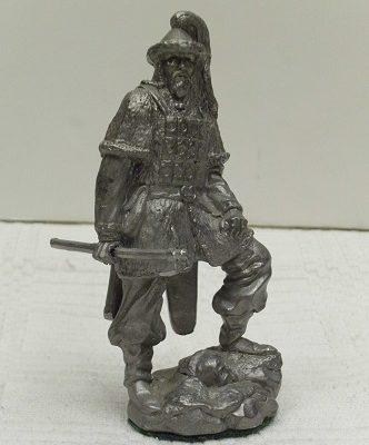 ősmagyar harcos szobor