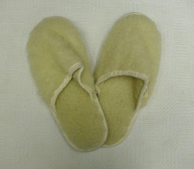 gyapjú papucs