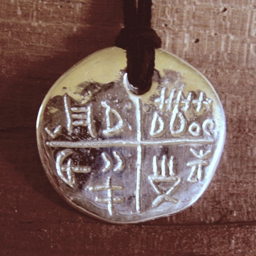 tatárlakai amulett ezüst medál