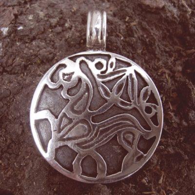 tiszaeszlári ló ezüst medál