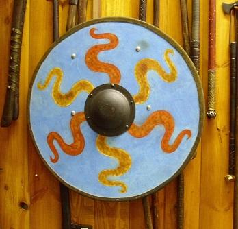 viking pajzs