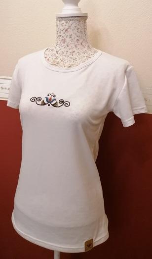 vásárhelyi hímzéses női póló