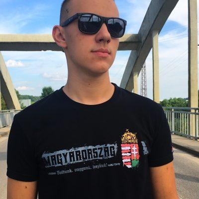 Magyarország címeres póló